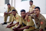 Foreskin Press police cop policeman gay march india indian pride article 377 chennai2