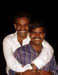API.  File Photo of Reuben and Thuyavan